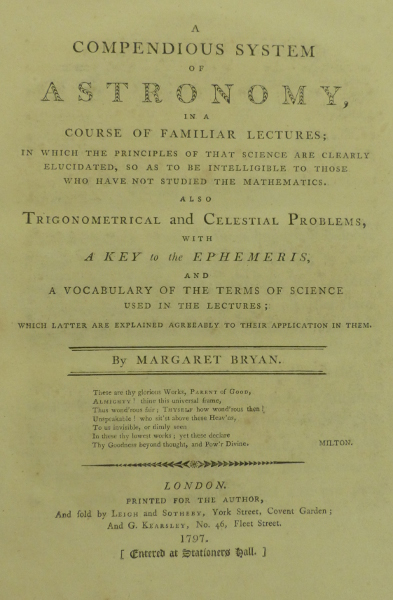 Bryan Astronomy title page