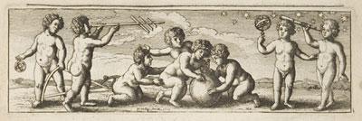 Vignette showing cherubs using various scientific instruments