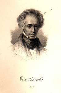 George Combe, 1836. From a painting by Sir Daniel Macnee, President of the Royal Scottish Academy