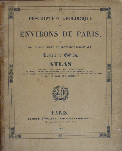 Cuvier and Brongniart cover