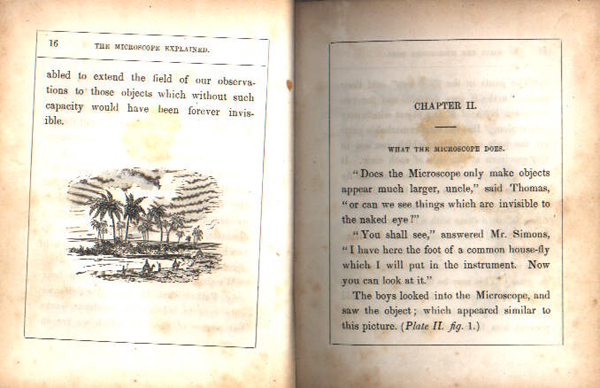 or, Illustrations of the minute parts of creation, adapted to the capacity of the young / by Jos. H. Wythes (Philadelphia: Lindsay and Blakiston, 1852) CR 1:49 (STORE)