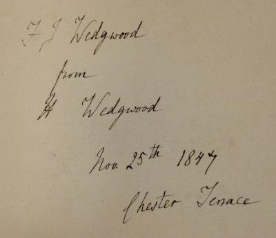 Flaxman Wedgwood signature