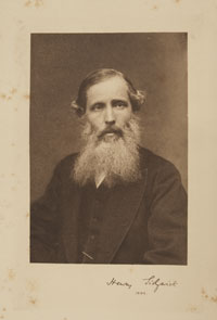 The portrait of Sidgwick taken from the frontispiece