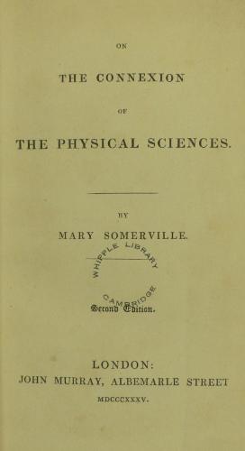 Somerville Connexion title page