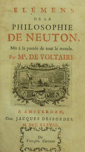 Voltaire title page