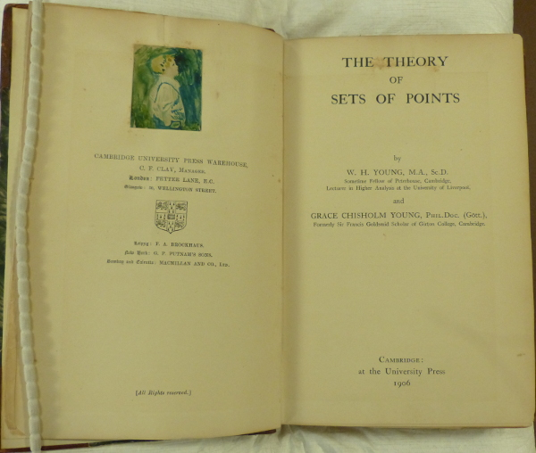 Young title page open