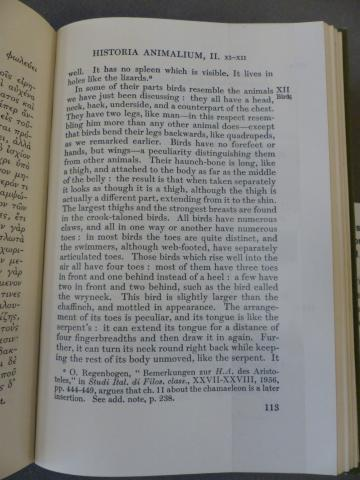 Books I-III / Aristotle V1.ARI 2.1b