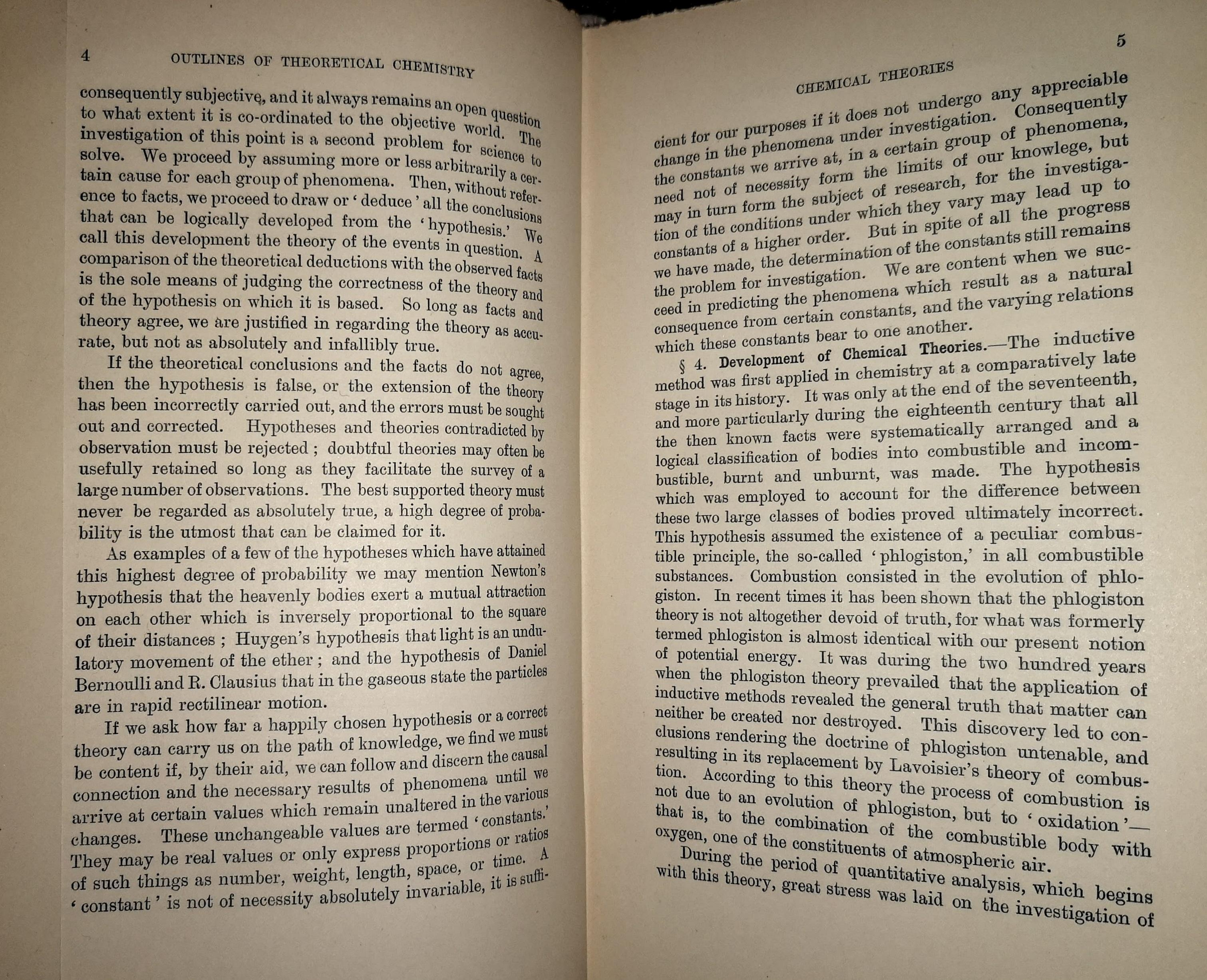 """""""Introduction to Meyer's Outlines of Theoretical Chemistry (1892)."""