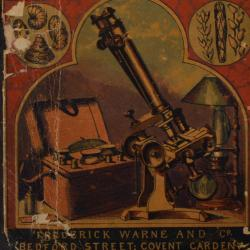 """Cover of M.C. Cooke's """"One Thousand Objects for the Microscope"""""""
