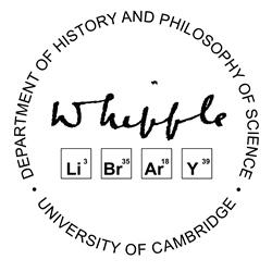 Whipple Library, Department of History and Philosophy of Science