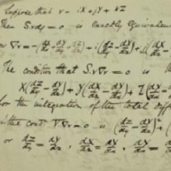 Handwritten calculus