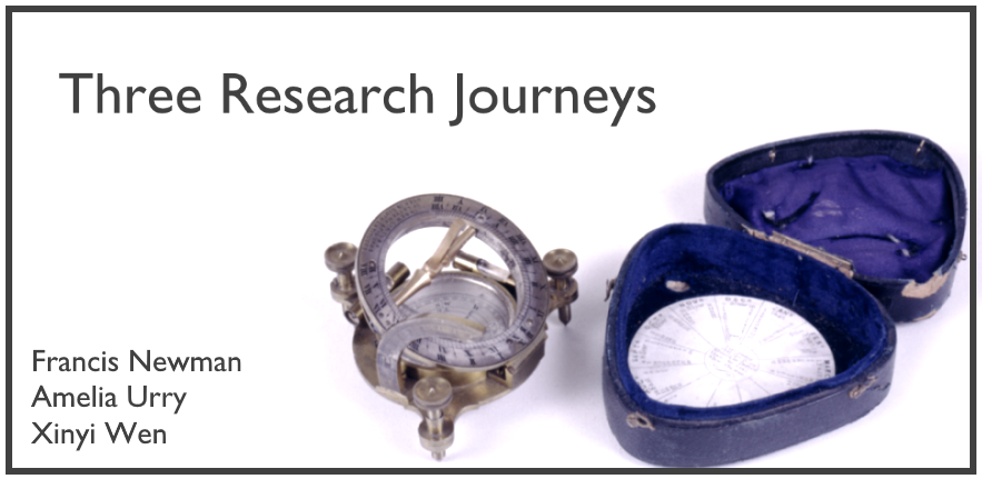 3 research journeys title for web