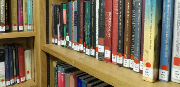 Reserve book shelf